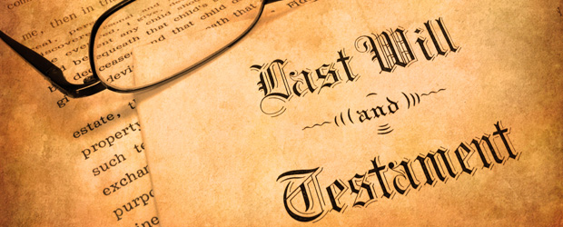 Making Your Last Will And Testament